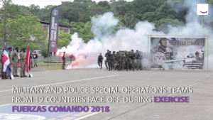 Special Operations Teams Square Off in Fuerzas Comando 2018