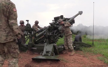 M777A2 Howitzer Fielding, Firing Makes History - Package