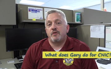 Faces of CNIC - Gary Easley, Senior EMS Systems Specialist