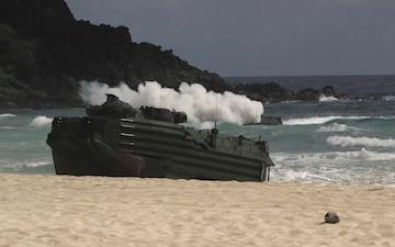 RIMPAC participants conduct amphibious landing demo in Hawaii