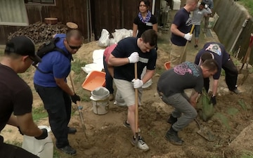 MCAS Iwakuni Single Marine Program Volunteers Continue with Neighborly Support in Japan (B-Roll)