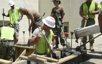 Homes for Navajo Veterans; 2018 July Gallup, New Mexico 133rd Civil Engineer Squadron Deployment for Training Building