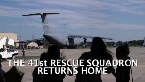 41st Rescue Squadron Return
