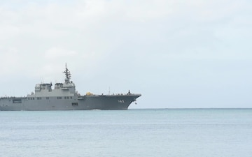 JS Ise (DDH 182) returns to Joint Base Pearl Harbor-Hickam