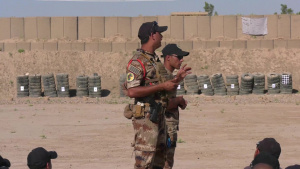 Iraqi Counter-Terrorism Service Members Receive Instruction During Range Operations