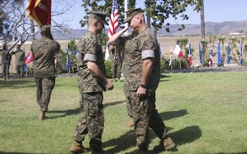 Marine Corps Air Station Camp Pendleton welcomes new commanding officer