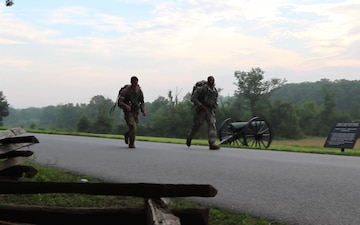 2018 ARNG Best Warrior Competition - 12 mile ruck march