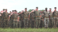 2nd Marine Division Change of Command