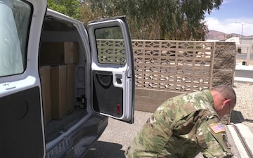 213th Personnel Company postal section delivers morale at NTC