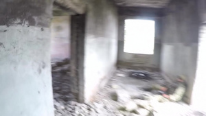 B-Roll: Ukrainian Infantry Marines urban ops training