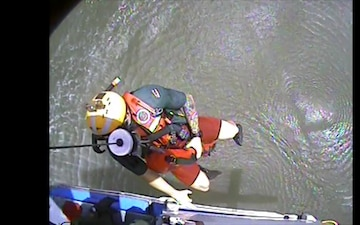 Coast Guard, Good Samaritans Rescue Mariner near San Luis Pass, Texas