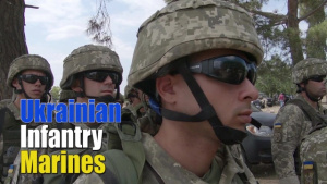 Social Media: Ukrainian Infantry Marines Urban Operations