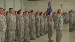134th ARW Change of Command
