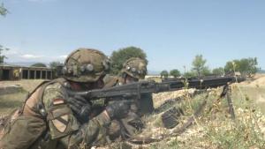 B-Roll: 391st Mechanized Infantry Battalion