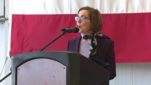 Oregon Governor Kate Brown Administers Oath of Office for Col Donna Prigmore's Promotion
