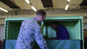CMSAF Kaleth O. Wright visits RAF Mildenhall