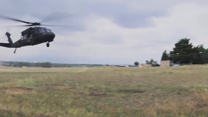 Noble Partner 18 Combined Urban Operations Exercise Aerial Footage