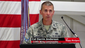 119th Wing Welcomes New Commander