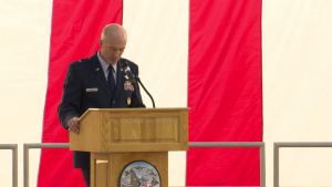 Air Force Test Center Change of Command