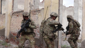 B Roll: 2CR, Georgian SOF Combined Urban Ops Exercise during Noble Partner 18