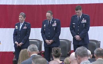 Air Force Sustainment Center Change of Command and Retirement Ceremony