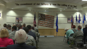 Grand Forks AFB Honorary Commander Induction Ceremony