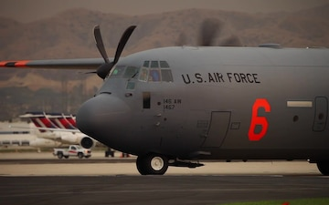 B-Roll: MAFFS 6 at SoCal airtanker base during Holy Fire