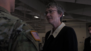 Secretary of the Air Force Heather Wilson Visits JBER