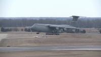C-5 Galaxy landing at Travis AFB