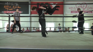 Wrestling at U.S. Garrison Humphreys