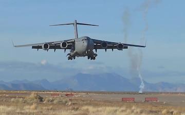 C-17 Globemaster Landing at Altus AFB