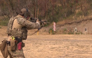 TACP Airmen conduct Advanced Weapons training