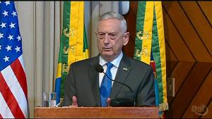 Mattis Visits Brazil