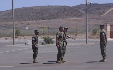 New sergeant major welcomed to 1st Marine Raider Support Battalion