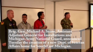 Michigan VA Home Announcement