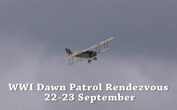 WWI Dawn Patrol Promo for Sept. 22-23 Museum Event