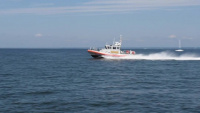 Coast Guard Station Eatons Neck training with Auxiliary