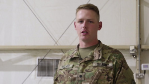 U.S. Army Soldiers support the I AM ARCENT Campaign