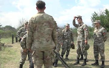 3-61 Cavalry Conduct Gunnery Tables at Krivolak Range