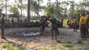Marine Corps Recruit Depot, Parris Island - Pugil Sticks