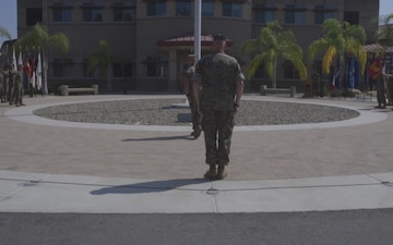 Wounded Warrior Battalion change of command