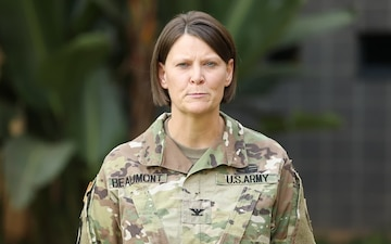Greetings/Shoutout to USAGPAN - Col. Denise Beaumont -