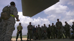 Army, Navy, Air Force Team Up for C130 Training