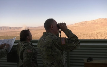 Lt. Gen Timothy J. Kadavy visits NTC rotation of 56th SBCT