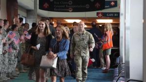 TSgt John Chapman's Family Departs for Medal of Honor Award Ceremony B-Roll Stringer