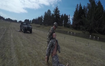 BROLL: Oregon Best Warrior Competition