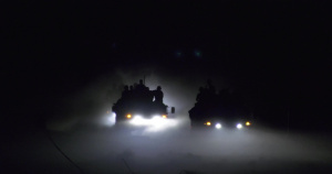 Iraqi Counter-Terrorism Service Conduct Night Fire Training Mission