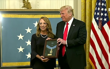 President Donald J. Trump Awards Medal of Honor During White House Ceremony