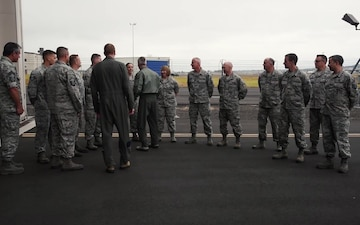 NORAD Commander visits 142nd Fighter Wing