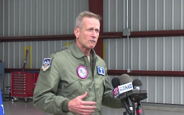 General O'Shaughnessy's remarks during 142nd Fighter Wing visit
